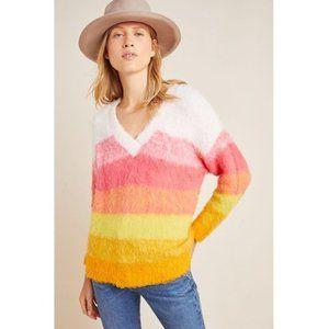 NWT Anthropologie Simone Striped Sweater